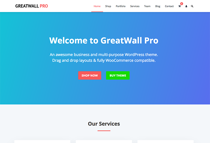 GreatWall WordPress Theme - HappyThemes