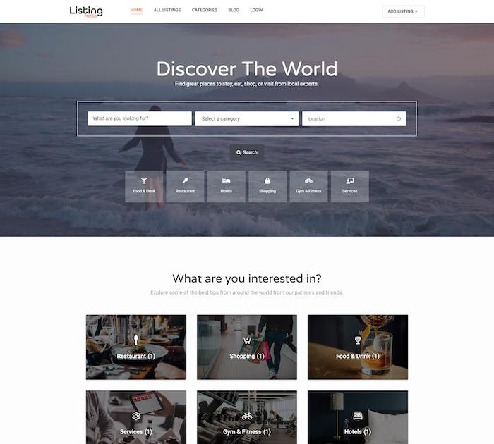 ListingPress Theme