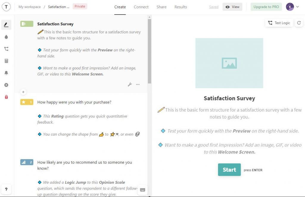 survey plugins